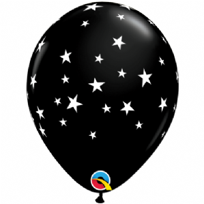 Contempo Stars Balloons (Black) | Free Delivery Available